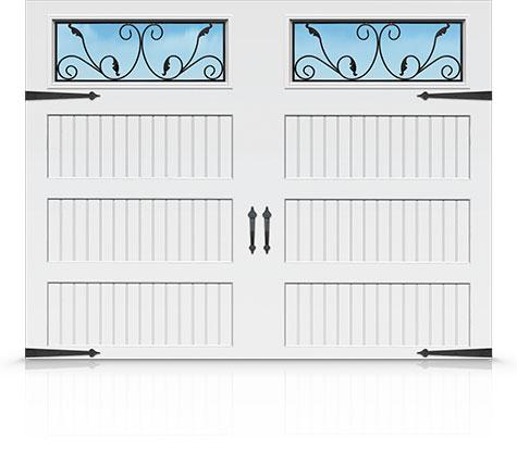Grandview Series Carriage House Doors