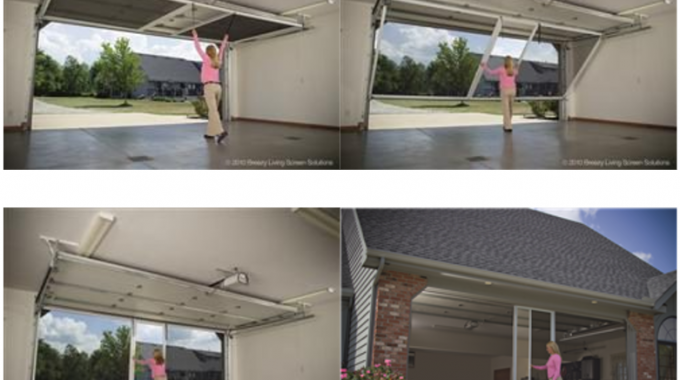 Popular Garage Screens To Turn Your Garage Into A Patio