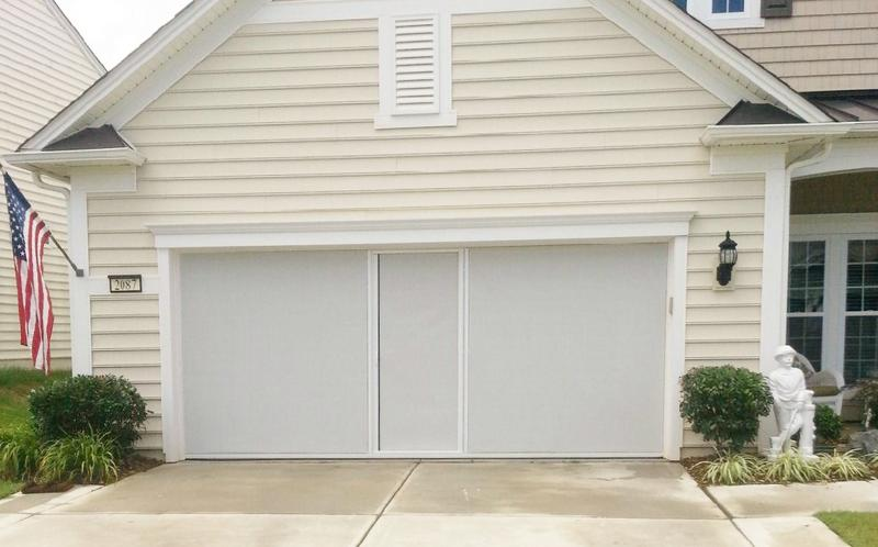 Lifestyle Privacy Garage Door Screen