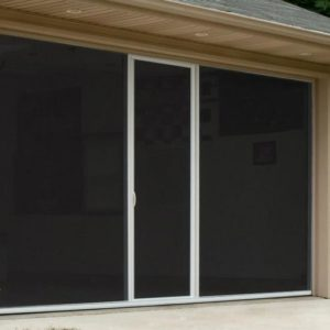 Lifestyle Standard Fiberglass Screen With Center Door 6′-16′ X 10′