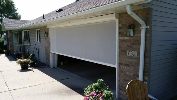 Lifestyle Super Garage Door Screen No Door