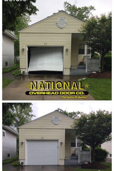Raynor Replacement Damaged Garage Door Buffalo New York