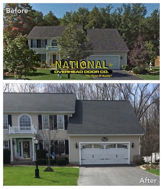 Richards Wilcox Briarcrest Quality Residential Garage Doors Buffalo NY