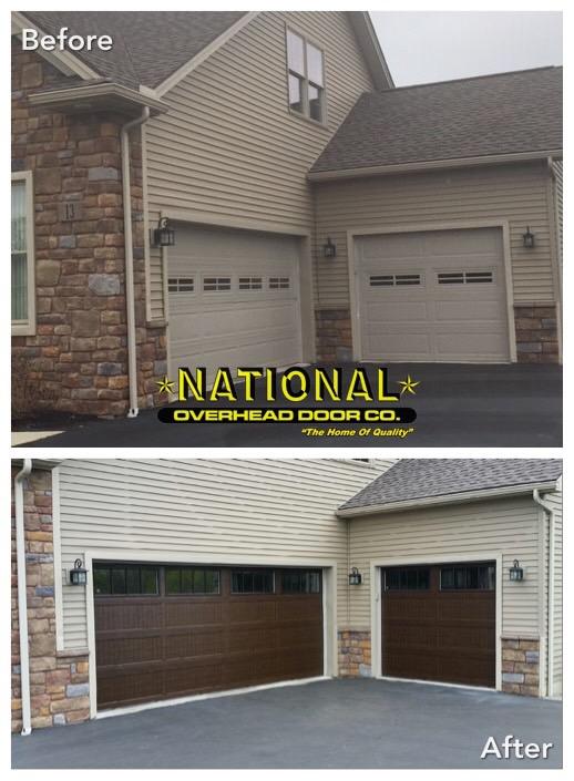 Grandview Series Carriage House Doors National Overhead Door
